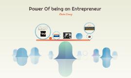 Power Of being an Entrepreneur