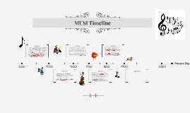 MUSI Timeline