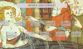 MIDDLE AGES SURGERY - KS2