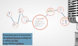Propuesta estratégica para la transición de radioemisoras en