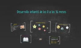 Desarrollo infantil de los 0 a los 36 meses