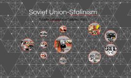 Soviet Union-Stalinism