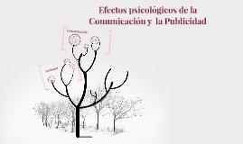 Copy of Efectos psicológicos de la Comunicación y  la Publicidad