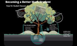 Becoming a Better Math Student