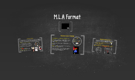 M.L.A Format