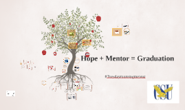 Hope  + Mentor = Graduation