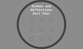 Echoes and Reflections