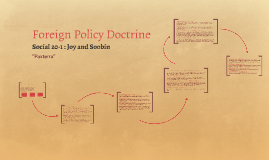 Foreign Policy Doctrine