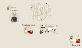 Cópia de Happy Holidays from Prezi!