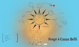 Stage à Casus Belli