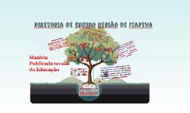 Copy of Diretoria de Ensino Região de Itapeva
