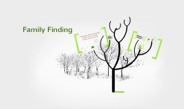 Family Finding Overview