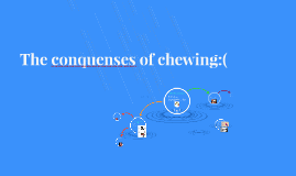 The conquenses of chewing:(
