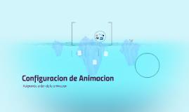 Configuracion de Animacion