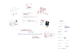 Copy of Aufklärung