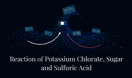 Reaction of Potassium Chlorate, Sugar and Sulfuric Acid