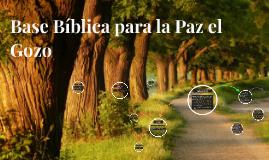Base Bíblica para la Pay el Gozo