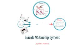 Suicide VS Unemployment