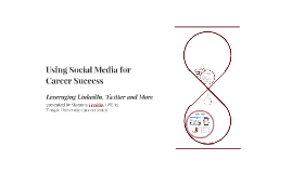 Social Media for Career Success - GSE 2015
