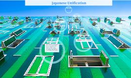 PREZI On Japanese Unification