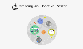 Creating an Effective Poster