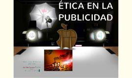 ETICA EN LA PUBLICIDAD