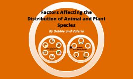 Factors Affecting the Distribution of Animal and Plant Species