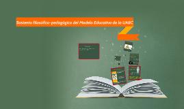 Sustento Filosofico-Pedagogico UABC