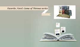 Favorite Novel: Game of Thrones series