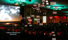 Roteiro, Captação e edição de vídeo em sala de au
