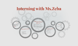 Interning with Ms.Zeba