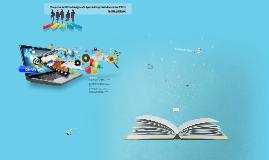 Proyecto Metodologías de Aprendizaje Basadas en las TIC´s