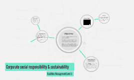 Corporate social responsibility & sustainability