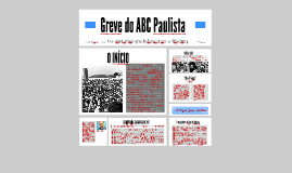 A greve do ABC