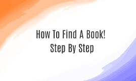 Step by Step Finding Book