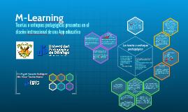 Teorías o enfoques pedagógicos presentes en el diseño instru