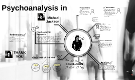 Psychoanalysis in Michael Jackson