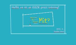 ISSZK Prezi tréning