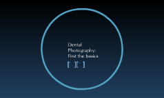 Dental Photography: First the basics