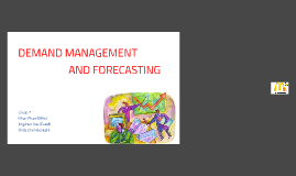 McDonald's Demand Management and Forecasting