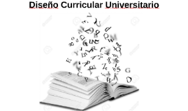 Diseño Curricular Universitario