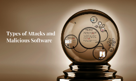Types of Attacks and Malicious Software