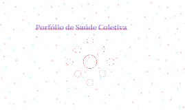 Porfólio de Saúde Coletiva