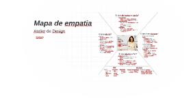 Mapa de Empatia - AD