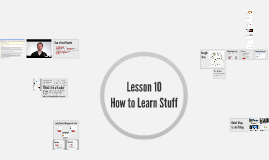 CAP 105 Lesson 10: How to Learn Stuff AND Google Docs