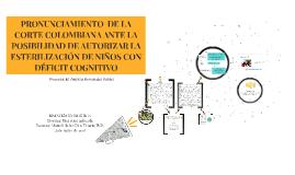 POSIBILIDAD DE LA CORTE COLOMBIANA
