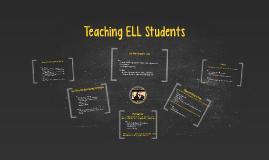 Teaching ELL Students