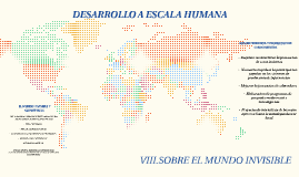 DESARROLLO A ESCALA HUMANA