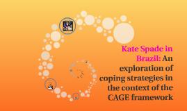 Kate Spade in Brazil