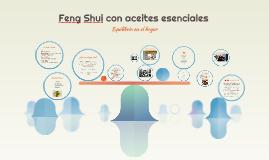 Feng Shui con aceites esenciales